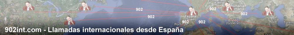 902int.com - Llamadas internacionales desde España